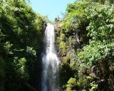 Marangu Waterfall and Marangu Village